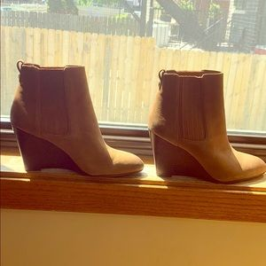 Sam Edelman wedge booties